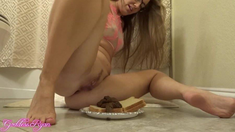 Eat My Spit & Shit Sandwich - With Actress: GoddessRyan [mp4] (2018) [FullHD Quality MPEG-4 Video 1920x1080 60.000 FPS 10.2 Mb/s]