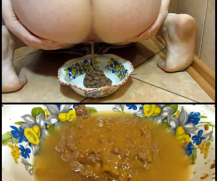 Scat and pissing in a bowl for you! Food is for you - With Actress: KassianeArquetti [mp4] (2018) [FullHD Quality 1920x1080]