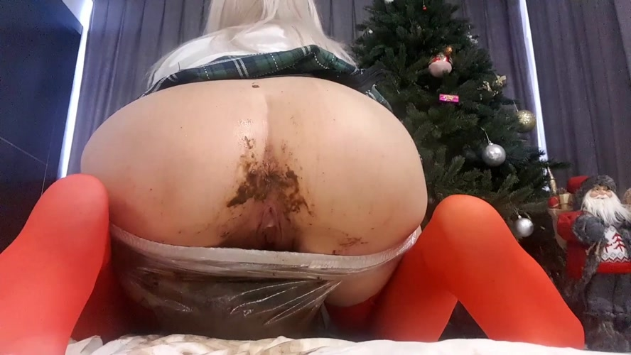 Christmas Scat Porn - Christmas Plastic Panties - With Actress: thefartbabes  [MPEG-4] (2018) [FullHD 1920x1080]
