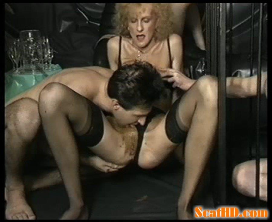 naked mother teaching daughter