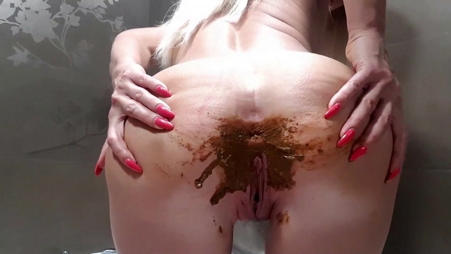 Naked Messy Poop - With Actress: thefartbabes [MPEG-4] (2019) [FullHD 1920x1080]