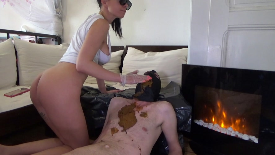 Poop on slave after morning coffee - With Actress: Lila  [MPEG-4] (2020) [FullHD 1920x1080]